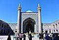 Goharshad Mosque Maqsura Iwan.jpg