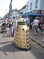 Gold Dalek in Sittingbourne - geograph.org.uk - 1947556.jpg