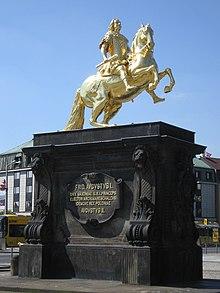 Goldener Reiter Reiterstandbild Wikipedia