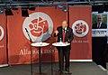 Goran persson swedish pm election rally 2006-sept-05 gothenburg speaking img2.jpg