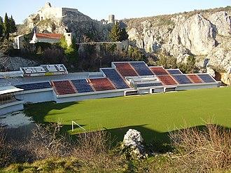 Stadion Gospin dolac - Image: Gospin Dolac Stadion NK Imotski