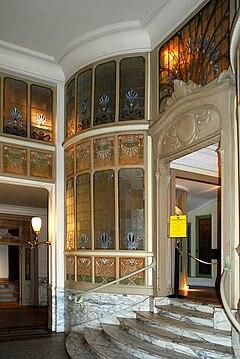 Art nouveau en belgique wikip dia for Ecole de decoration interieur bruxelles