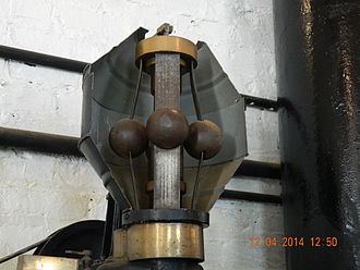 Folsom Powerhouse State Historic Park - Lombard Water Wheel Governor Flyball assembly