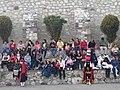 Gradas en presentación de moros y cristianos en San Juan Totolac, Tlaxcala.jpg