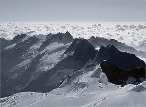 Gran Paradiso National Park - Gran Paradiso mountain.