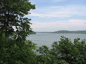 Grand Lake o' the Cherokees - View of a portion of Grand Lake near Grove, Oklahoma