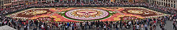 Grand Place Flower Carpet 2018