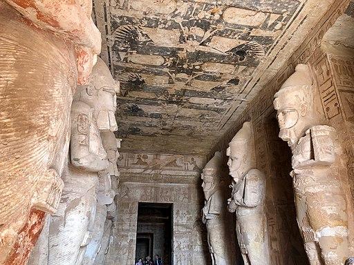 Great Hall, The Great Temple of Ramses II, Abu Simbel, AG, EGY (48017079447)