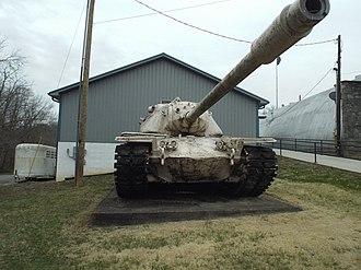 M103 (heavy tank) - Image: Greensburg M103