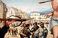 Gregório lopes, martirio di san sebastiano, 1536-39, 02 veduta cittadina.jpg