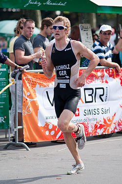 bei der Triathlon-WM in Lausanne, 2010