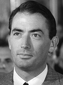 Gregory Peck en 1953 en a cinta Roman Holiday.