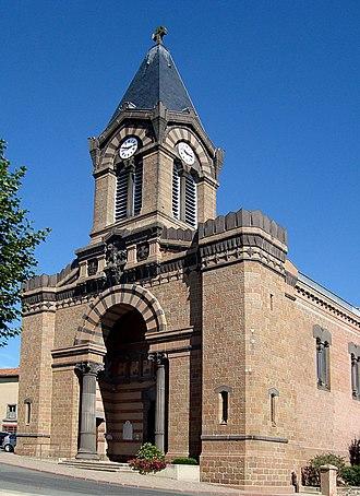 Grézieu-le-Marché - The church in Grézieu-le-Marché