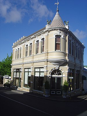 Wynberg, Cape Town - Victorian building in Wolfe Street, Wynberg