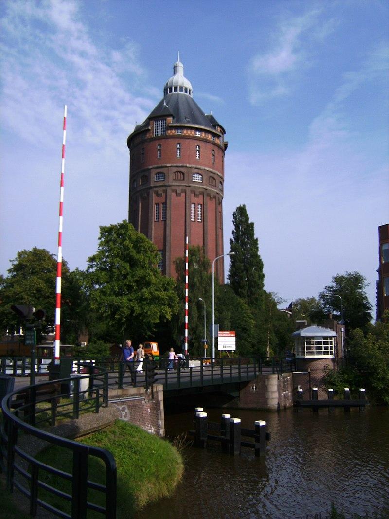 Groningen, watertoren 2008-07-05 18.18.JPG
