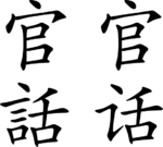 wiki chinese mandarin slang