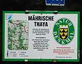 GuentherZ 2010-07-31 0080 Raabs Naturdenkmal maehrische Thaya Tafel.jpg