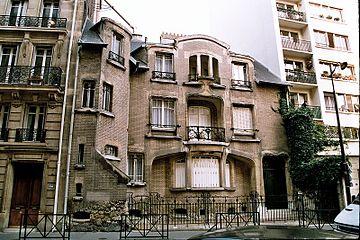 Hector guimard wikipedia htel mezzara 60 rue la fontaine paris 1910 aloadofball Image collections