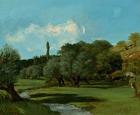 Gustave Courbet - La Bretonnerie in the Department of Indre - National Gallery of Art Washington.jpg