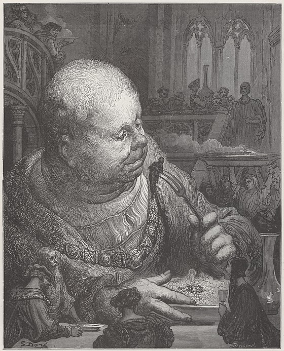 Gustave Doré - Gargantua