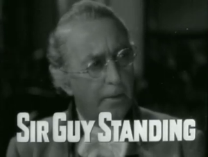 Guy Standing - Sir Guy Standing in Lloyd's of London (1936)