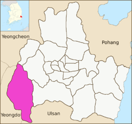 Gyeongju map-Sannae-myeon-01.png