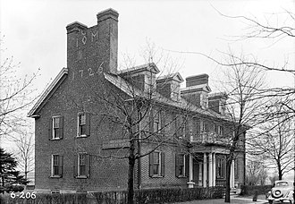 Camden, New Jersey - Pomona Hall, built in 1726.