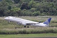 HK-4507 Embraer 190 Copa Airlines (7489023094).jpg