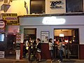 HK 中環 Central 香港蘇豪區 Soho night 依利近街 Elgin Street n 士丹頓街 Staunton Street October 2018 SSG 08.jpg