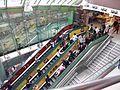 HK SSP 西九龍中心 Dragon Centre mall interior escalators n visitors n stairs Dec 2016 Lnv2.jpg