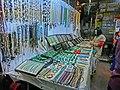 HK Yau Ma Tei 廟衙 夜市 攤販 Temple Street night B6 stall Apr-2013 Jade chains.JPG