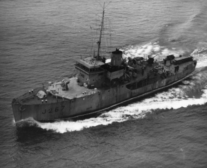 DATAR - HMCS Digby was used to test DATAR on Lake Ontario