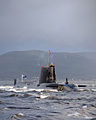 HMS Astute Arrives at Faslane for the First Time MOD 45150830.jpg