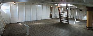 HMS Gannet 1878 warrant officers mess.JPG