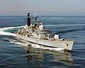 HMS York on deployment in the Far East. MOD 45145154.jpg