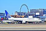 HP-1723CMP Copa Airlines 2011 Boeing 737-8V3 - cn 37959 - McCarran International Airport, Las Vegas (11229530754).jpg