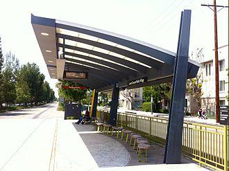 Laurel Canyon station - Platform of the Station