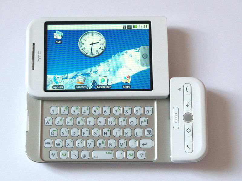 Le HTC Dream vendu par Orange