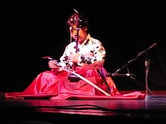 Haegeum - Jung Su-nyun playing haegeum sanjo