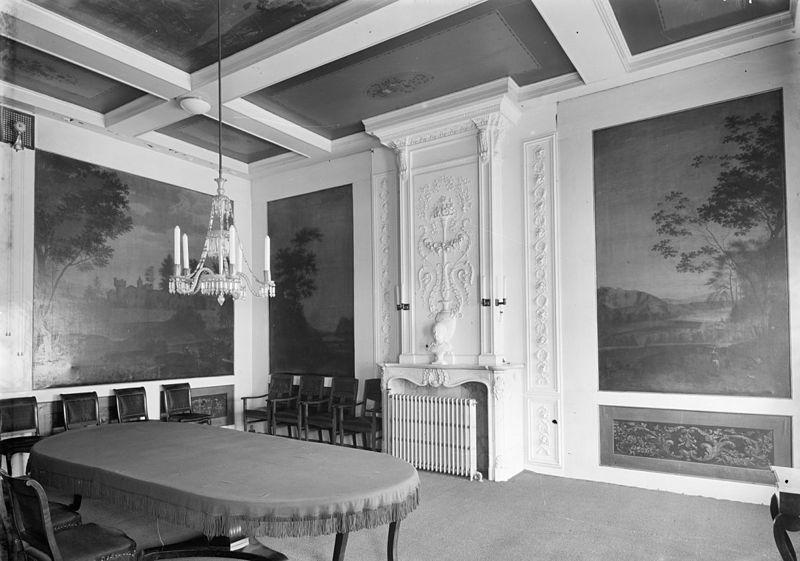 Martena state 1895 1984 raadhuis franekeradeel in franeker monument for Hal ingang