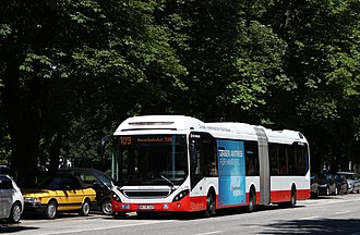 Volvo 7900 - An Articulated 7900, Operated by Hamburger Hochbahn