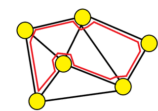 Hamiltonian path Path in a graph that visits each vertex exactly once