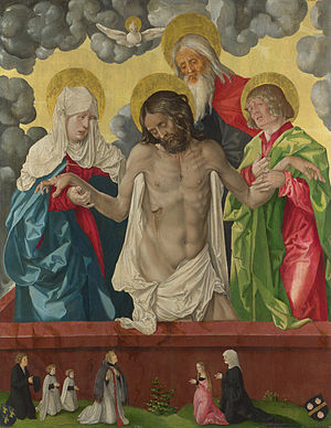 Hans Baldung - The Trinity and Mystic Pietà