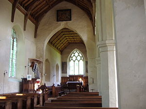 Hanworth, Norfolk - The Interior of the parish Church