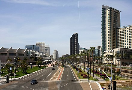 View on Harbor Drive Harbor Drive, San Diego.jpg