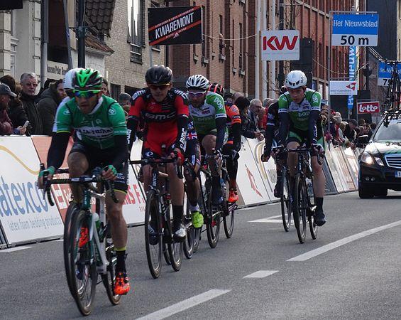 Harelbeke - Driedaagse van West-Vlaanderen, etappe 1, 7 maart 2015, aankomst (A53).JPG