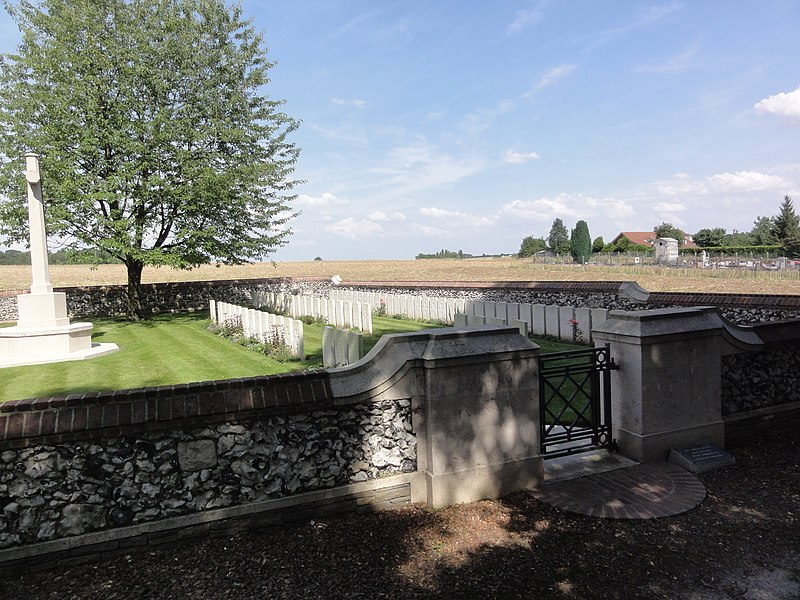 Hargicourt Communal Cemetery Extension (Aisne)