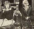 Harold Lloyd Smoking a Hookah with Mildred Davis in A Sailor-Made Man.jpg
