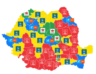 2019 election of members of the European parliament for Romania