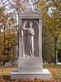 Hax-McCullough Monument, Allegheny Cemetery, 2015-10-27, 02.jpg
